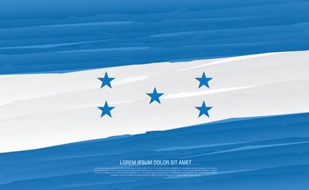 flag of Honduras Ilustração