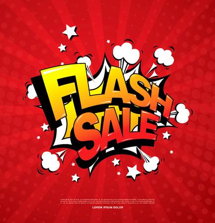 flash sale banner layout design