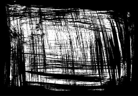 black vector grunge background Ilustrace
