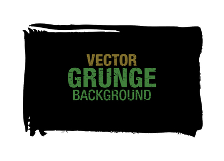 black vector grunge background Ilustrace