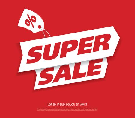 sale banner design vector illustration