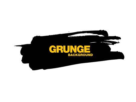 black vector grunge background vector illustration