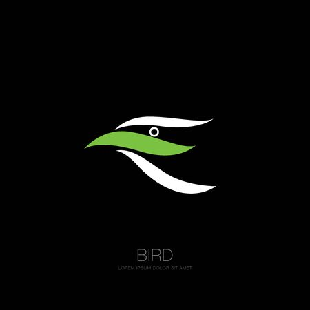 bird corporate. bird icon design. vector illustration Banque d'images - 129655644