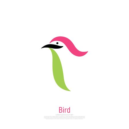 bird corporate. bird icon design. vector illustration Banque d'images - 129655647