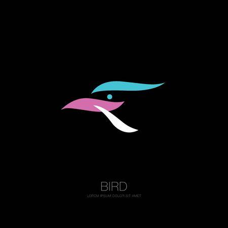 bird corporate. bird icon design. vector illustration Banque d'images - 129655692