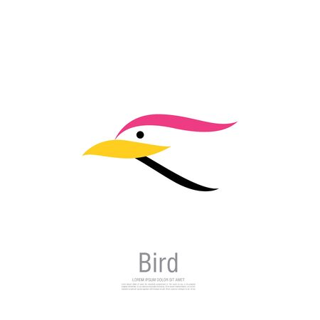 bird corporate. bird icon design. vector illustration Banque d'images - 129655696