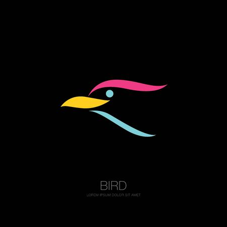 bird corporate. bird icon design. vector illustration Banque d'images - 129655698