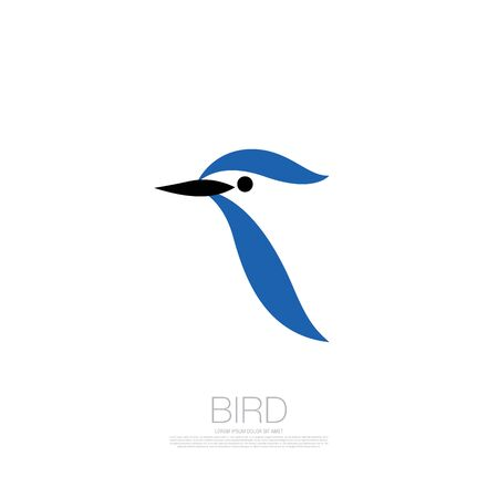 bird corporate. bird icon design. vector illustration Banque d'images - 129655720