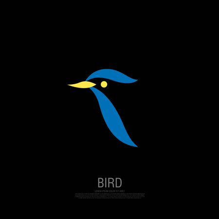 bird corporate. bird icon design. vector illustration Banque d'images - 129656356