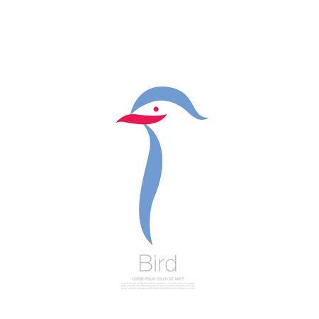 bird corporate. bird icon design. vector illustration Banque d'images - 129656359