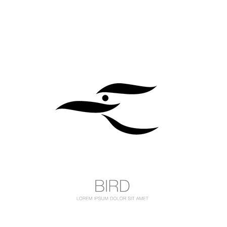 bird corporate. bird icon design. vector illustration