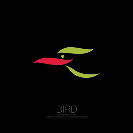 bird corporate. bird icon design. vector illustration Banque d'images - 129656362