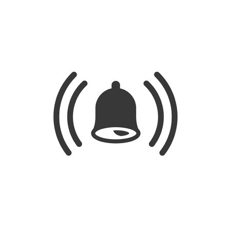 ringing bell icon design vector illustration
