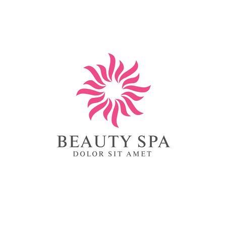 beauty spa   design vector illustration Çizim