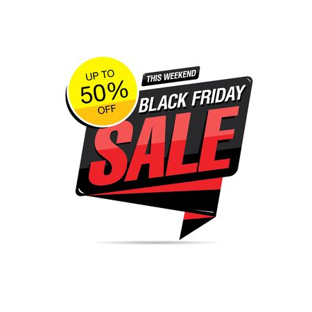 black friday sale icon layout design, vector illustration, grunge slyle
