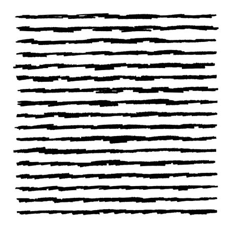 hand drawn horizontal stripes pattern background