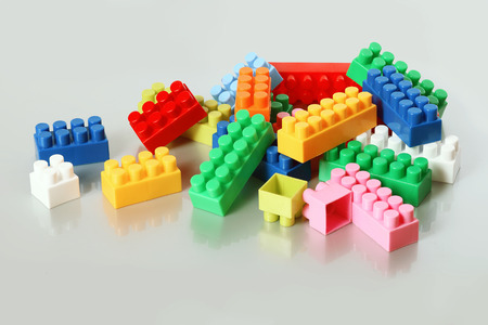 constructor: colorful constructor Stock Photo