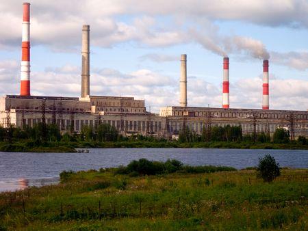 industrial landscape: Panorama industriale.