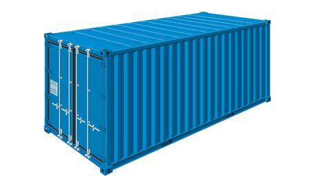 Container für den Warentransport Vektorgrafik