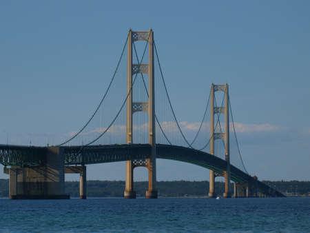 mackinac: Mackinac Bridge in Michigan