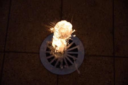 illuminated: illuminated Wasserfontne