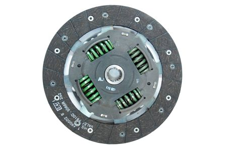 Car part - clutch (isolated)