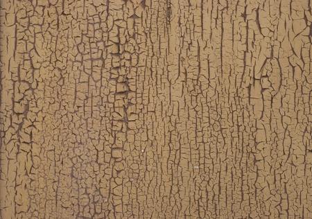 Peinture gercée jaune sur bois Banque d'images - 8727244