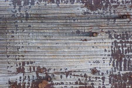 La vieille peinture Pelée sur panneaux en bois Banque d'images - 8727251