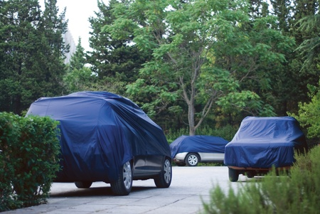 protective car cover photo