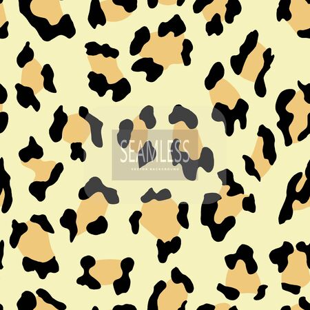 Leopard seamless pattern. Animal print. Vector background.animal skin, tiger stripes, abstract pattern, line background, fabric. Amazing hand drawn vector illustration. Poster, banner. Black and white artwork monochrom