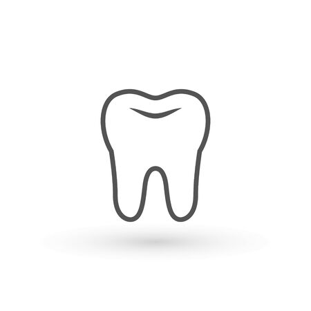 Tooth healthy icon, teeth icon dentist flat vector sign symbol. For mobile user interface clean tooth, dentistry symbol, care, dentist , medical sign 일러스트