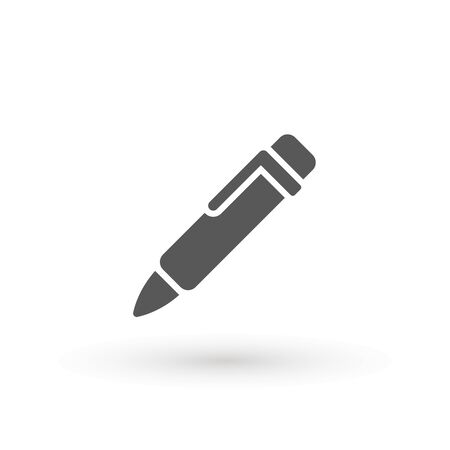 Pen Icon. Pencil icon symbol for your web site design, app, UI. Vector illustration. isolated. Flat design.