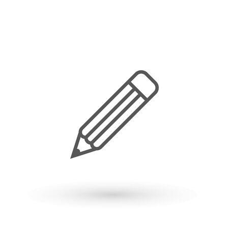 Pen Icon. Pencil icon symbol for your web site design, app, UI. Vector illustration. isolated. Flat design.