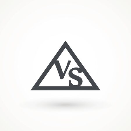 Versus Or VS Letters Icon Logo Design Inspiration logo template design element competitor, game, sport, rival and more.