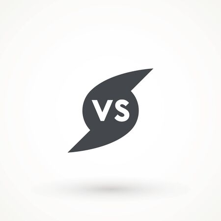 Versus Or VS Letters Icon Logo Design Inspiration logo template design element competitor, game, sport, rival and more. 向量圖像