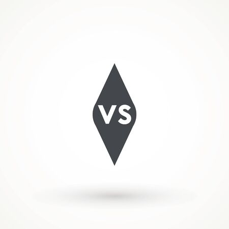 Versus Or VS Letters Icon Logo Design Inspiration logo template design element competitor, game, sport, rival and more. Ilustrace