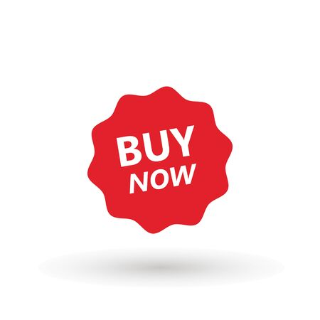Sale icon : buy now signage. buy now icon button in vector file isolated on white background. Foto de archivo - 145168884