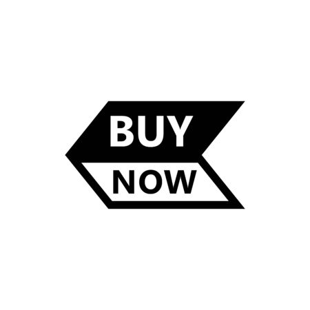 Sale icon : buy now signage. buy now icon button in vector file isolated on white background. Foto de archivo - 145446846