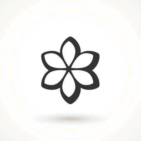 Flower Icon sign Spring symbol for your web site design, logo, app isolated on white background.
