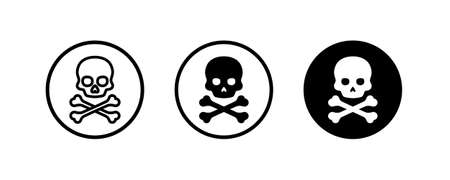 Skull and crossbones icon.