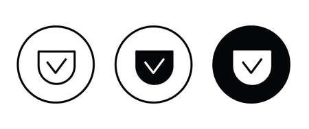 Patch Pocket icons button, vector, sign, symbol, logo, illustration, editable stroke, flat design style isolated on white linear pictogram Ilustração