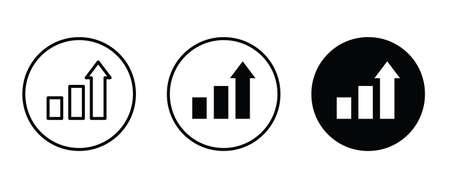 rank icon, ranking vector, sign, symbol, logo, illustration, editable stroke, flat design style isolated on white Ilustração