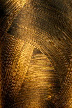 The texture of black gold Imagens