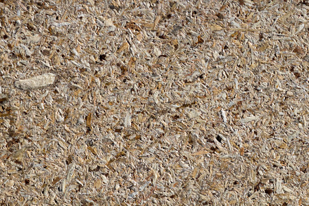 bard: osb - oriented strand board or qsb - qu?lity str?nd b?ard, chipboard texture or chipboard background  with copy space for text or image.