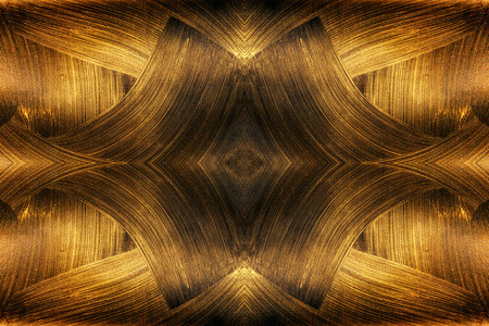The texture of black gold. Abstract fractal. Fractal art background for creative design. Decoration for wallpaper desktop, poster, cover booklet, card. Psychedelic. Imagens - 65595157