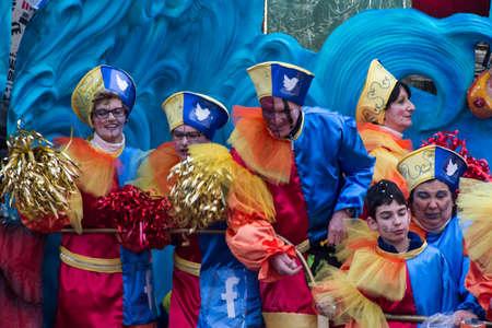 Viareggios Carnival 2016 Editorial