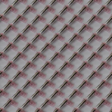 regular: Regolari rossetti rosa, carta da parati piastrellabile