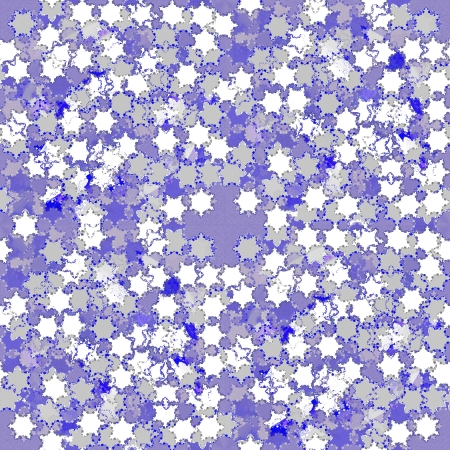 Snowflackes tileable ornamental pattern photo
