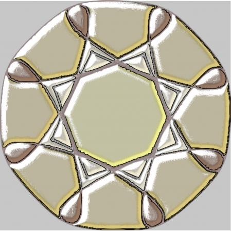 fengshui: Ornamental mandala