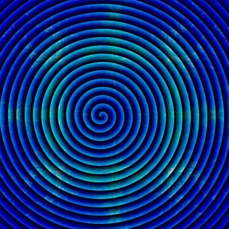 Crazy rainbow spiral photo